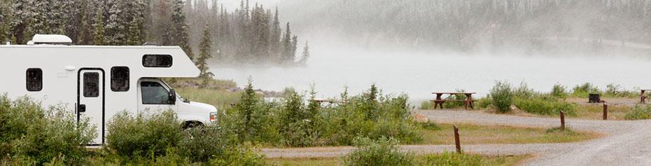 Alaska Camper Routen
