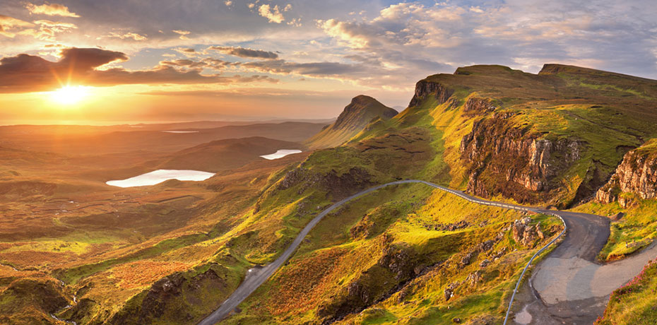 Camper Route Schottland Edingburgh