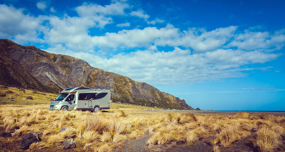 Neuseeland Camper into the wild