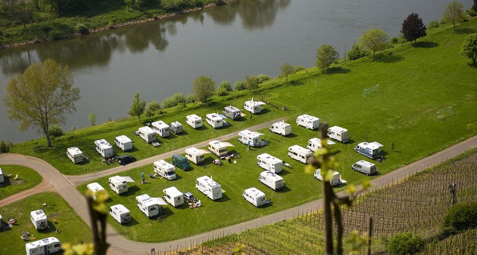 Campingplatz motorhomes mosel